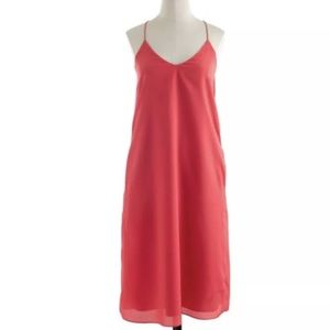 J. Crew Carrie racer back Cami Dress with pockets